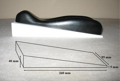 decompression wedge dimensions